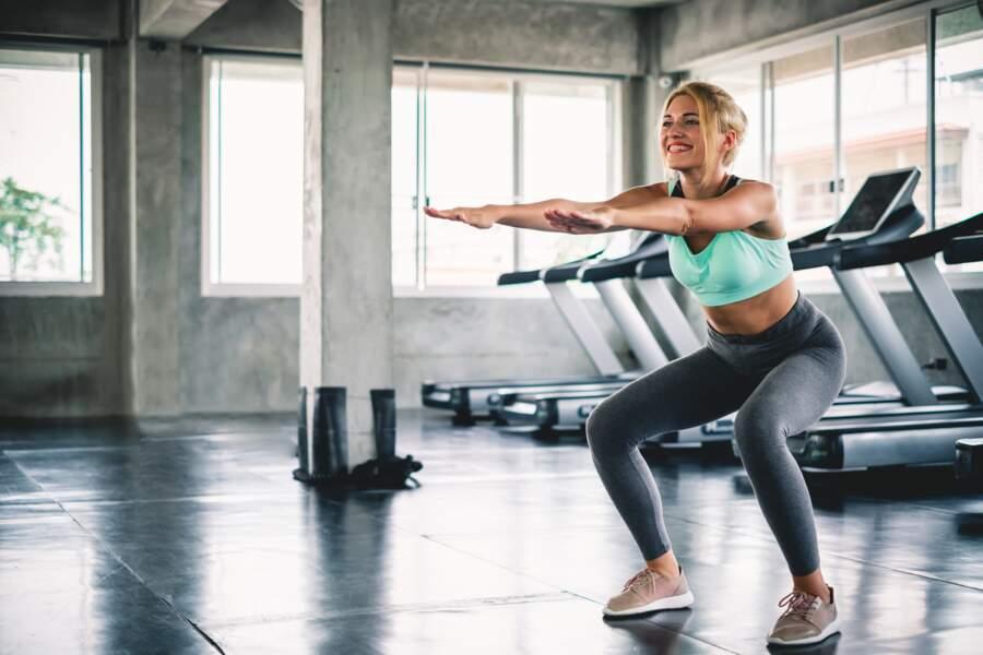 Exercice 9 : les squats