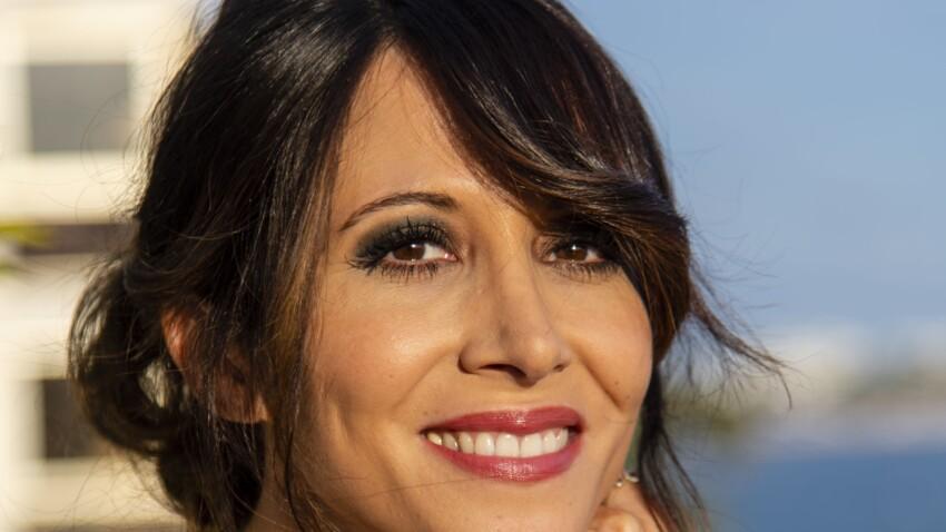 Fabienne Carat : cheveux lissés et mise en beauté parfaite pour un moment très spécial