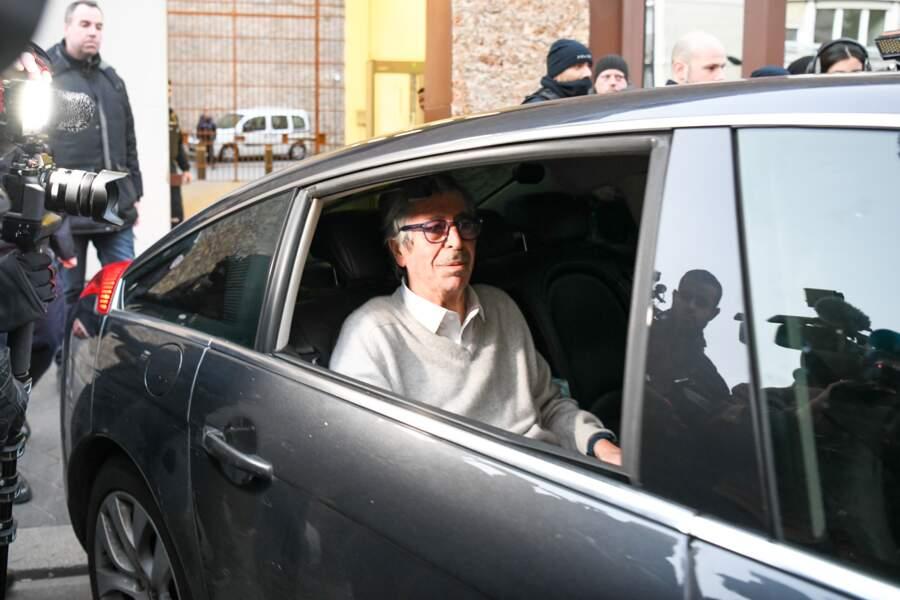 Patrick Balkany libéré de la prison de la Santé le 12 février 2020.