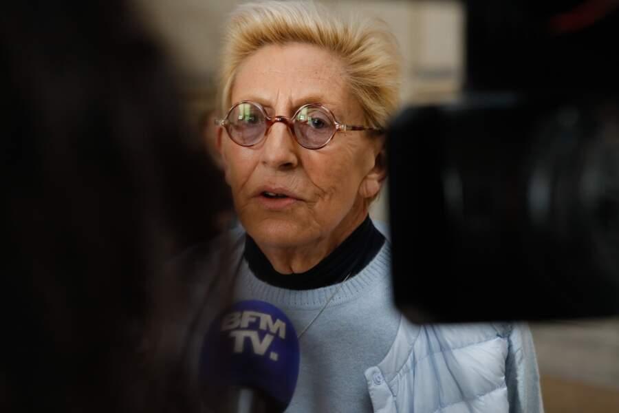 Isabelle Balkany est arrivée en retard au tribunal de Paris car elle rendait visite à son mari à la prison le 4 février 2020.