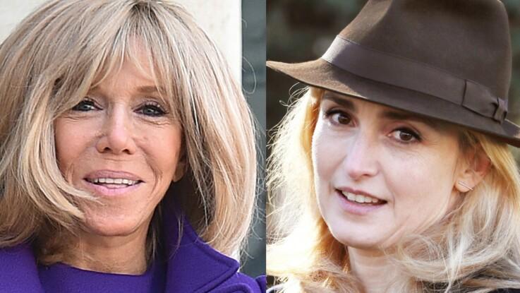 """Brigitte Macron : ce déjeuner qui a mis Julie Gayet """"hors d'elle"""""""