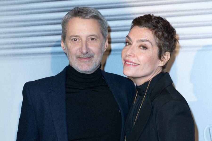 Antoine de Caunes et Daphné Roulier