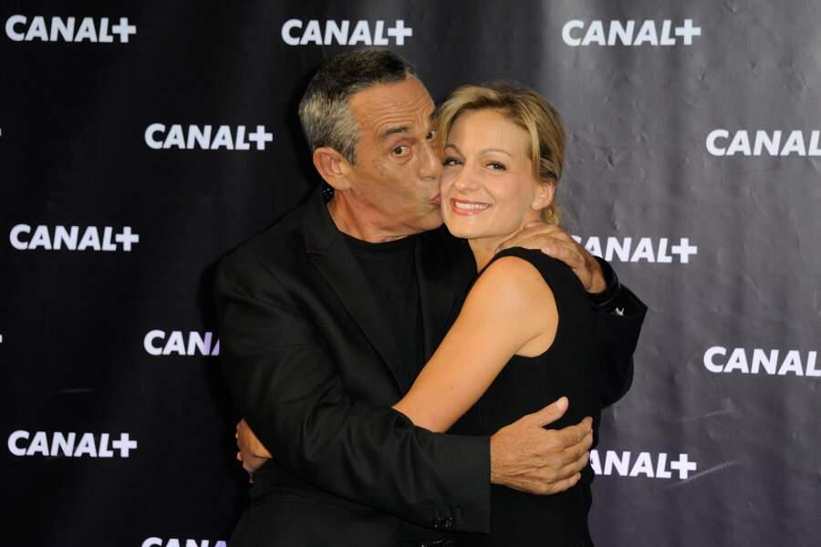 Thierry Ardisson et Audrey Crespo-Mara