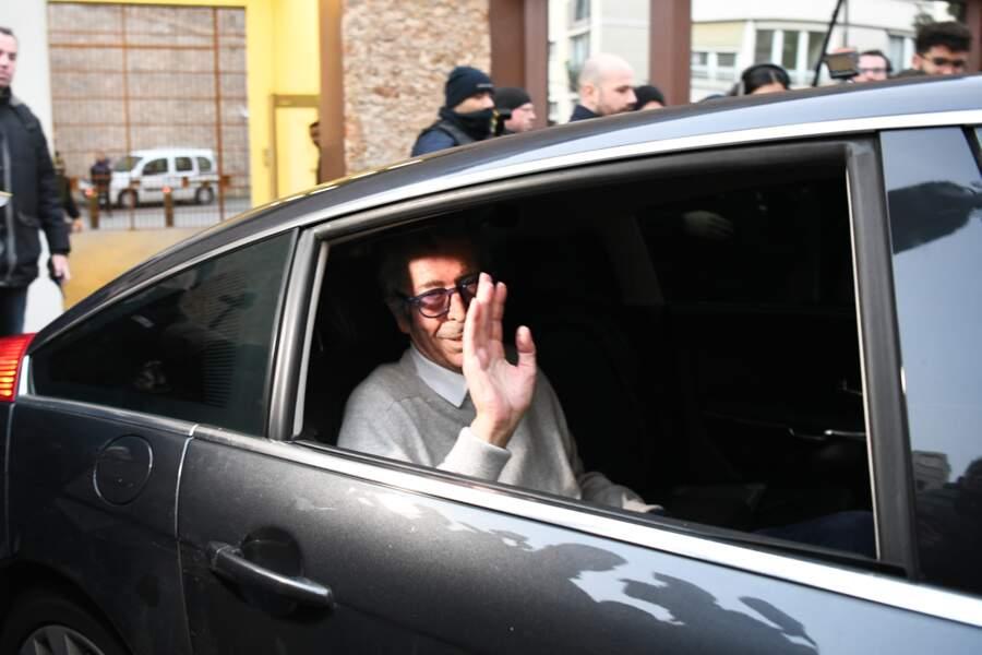 Très amaigri, Patrick Balkany libéré de la prison de la Santé le 12 février 2020.