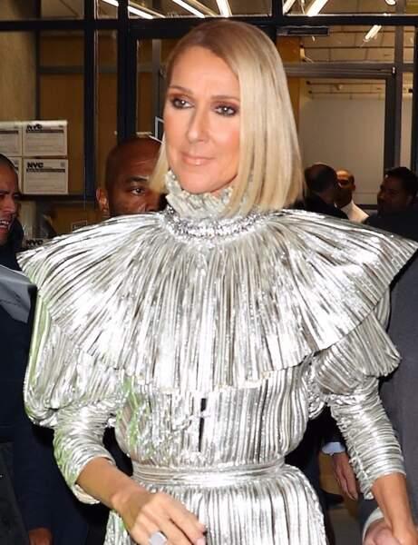Le carré court de Céline Dion