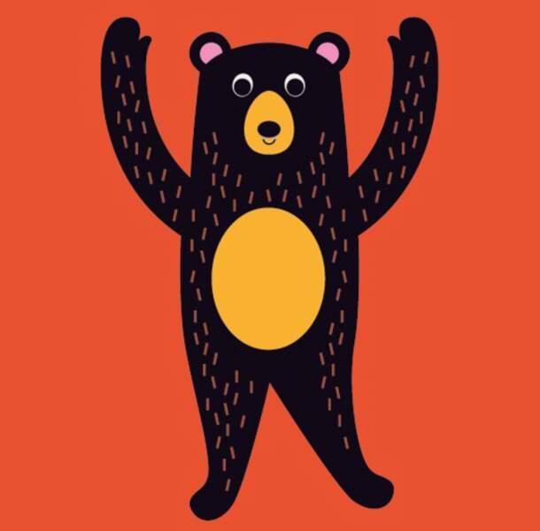 Les pattes de papa ours