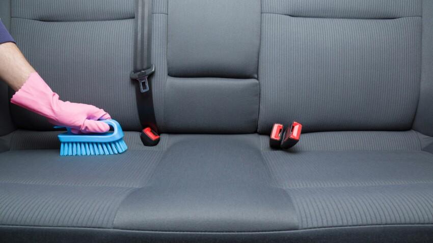 Pourquoi il faut nettoyer régulièrement les sièges de voiture