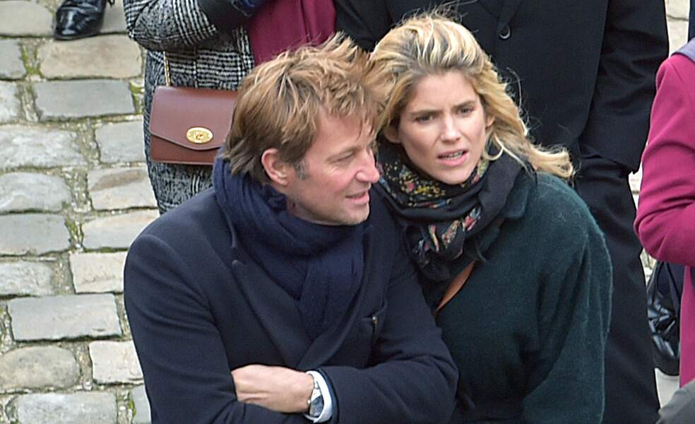 Laurent Delahousse et sa compagne Alice Taglioni