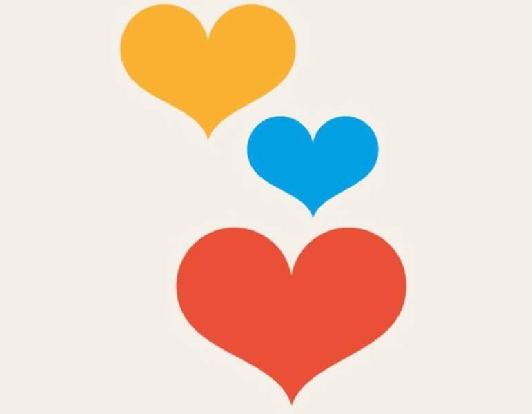 Les trois coeurs