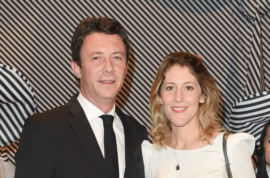 Benjamin Griveaux avec sa femme Julia Minkowski.