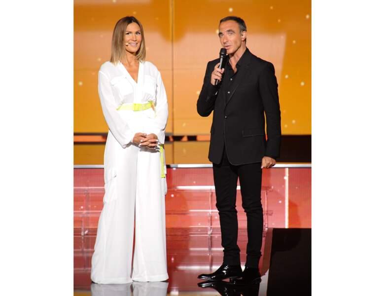 Vitaa et Nikos Aliagas en 2019