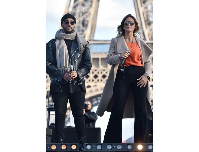 Slimane et Vitaa répètent pour un concert en 2019