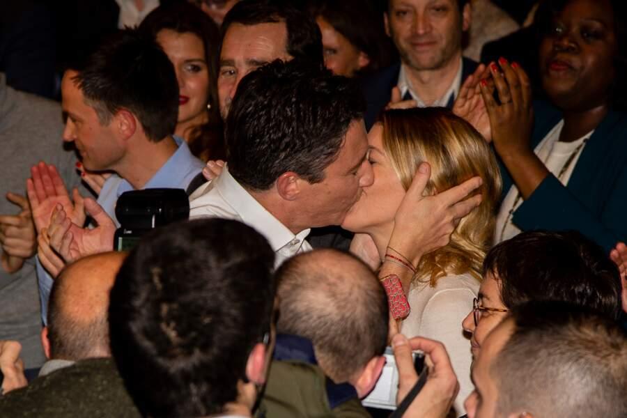 Elle a soutenu son mari Benjamin Griveaux lors de sa campagne aux élections municipales de Paris.