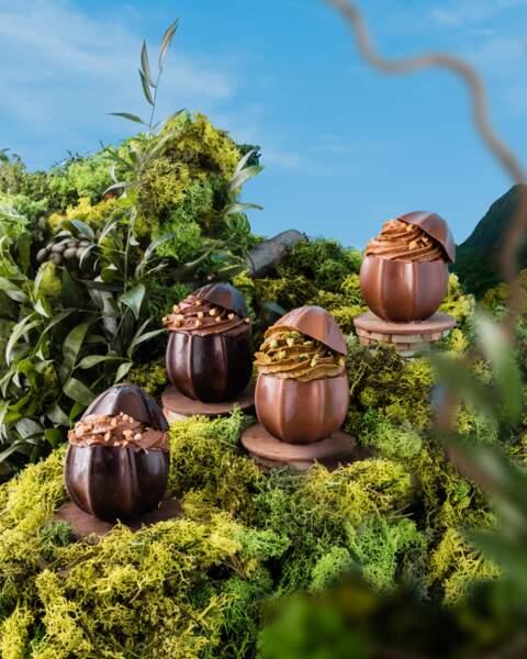 Les oeufs grain - Edwart Chocolatier