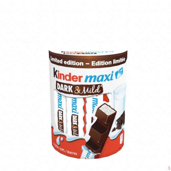 Kinder maxi au chocolat noir