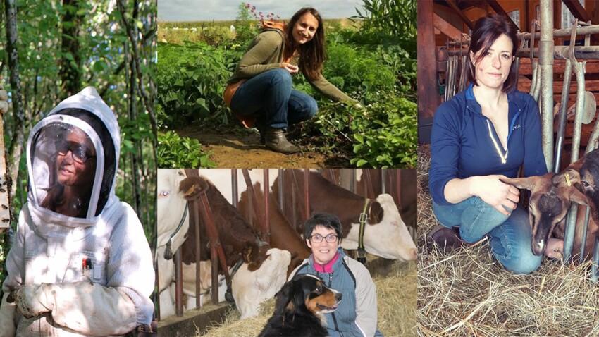 Ces agricultrices respectent la terre et les animaux