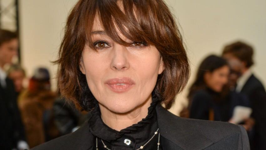 Monica Bellucci : elle aussi, elle adopte la coiffure tendance que l'on voit partout ! (Votre avis ?)