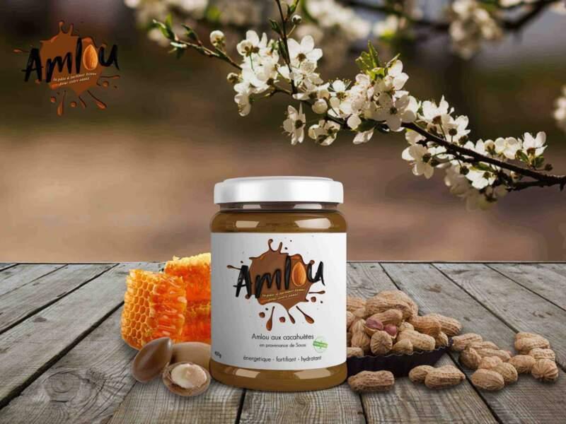 Pâte à tartiner aux cacahuètes : Amlou