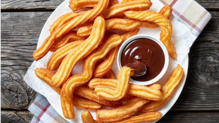 Churros Thermomix au four