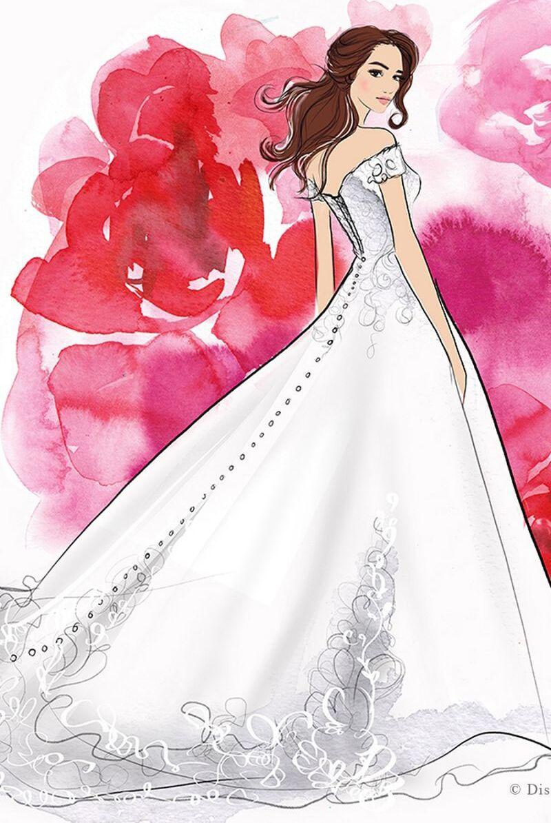 Mariage Ces Robes De Mariee Inspirees Des Princesses Disney Vont Vous Faire Rever Femme Actuelle Le Mag