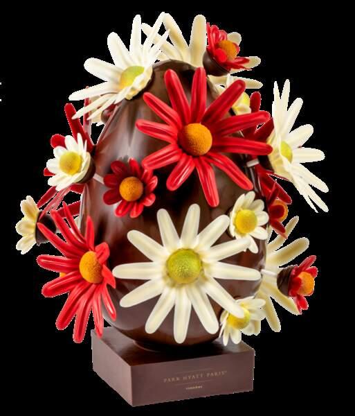 """Oeuf """"Le pouvoir des fleurs"""" - PArk Hyatt Paris"""