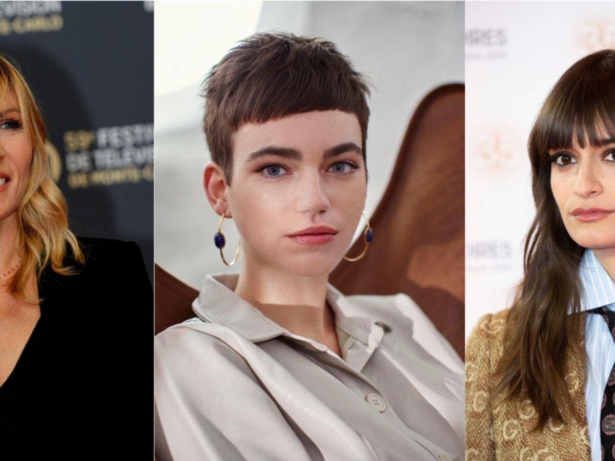 Coupes De Cheveux Avec Une Frange Les Plus Belles A Adopter En 2020 Femme Actuelle Le Mag