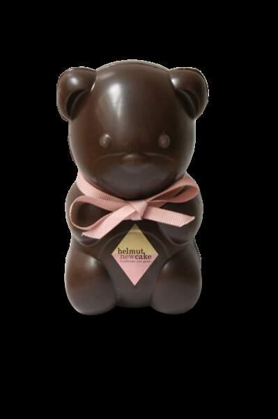 Ourson en chocolat sans gluten - Helmut Newcake