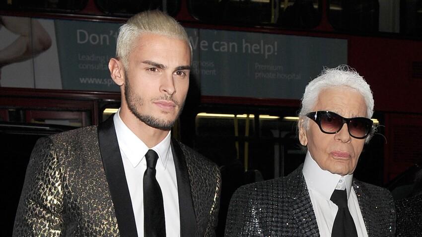 """""""On se faisait souvent des câlins"""" : Baptiste Giabiconi revient sur sa relation avec Karl Lagerfeld"""