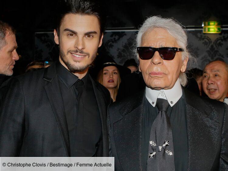 """Vidéo - Baptiste Giabiconi : le premier héritier de Karl Lagerfeld """"va se régaler"""" selon Gérard Lanvin"""