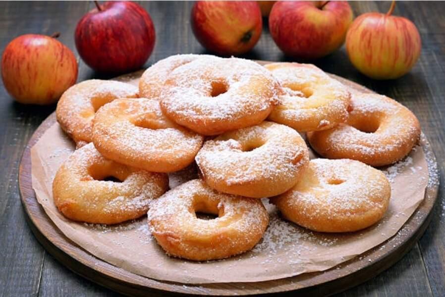 Beignets aux pommes healthy sans sucre et sans friture