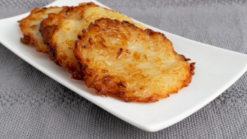 Galettes de pommes de terre