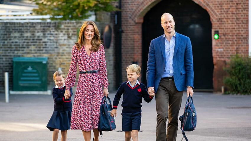Prince William et Kate Middleton : l'école de George et Charlotte exposée au coronavirus