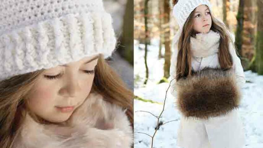 Crochet gratuit : un bonnet pour enfant