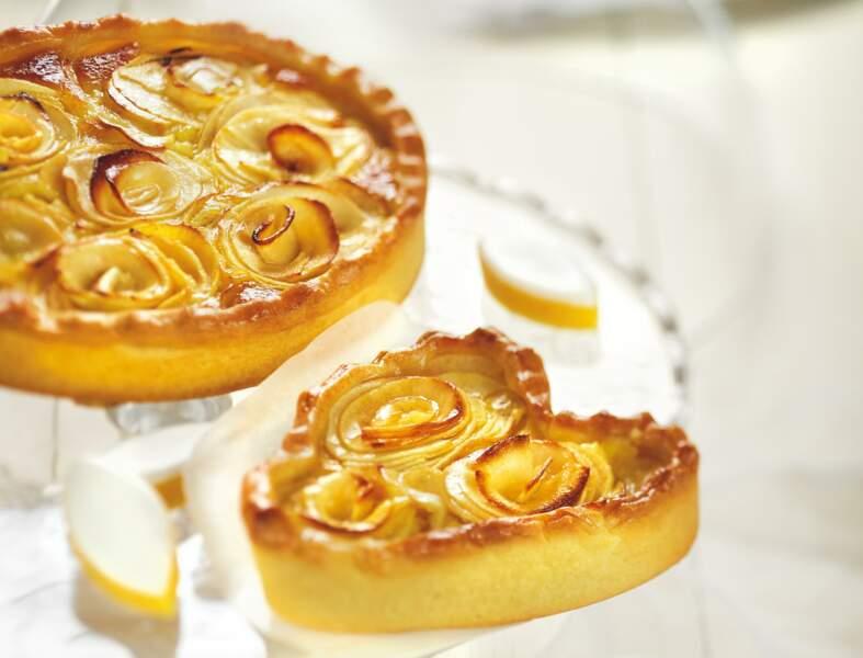 Bouquet de tartelettes aux pommes