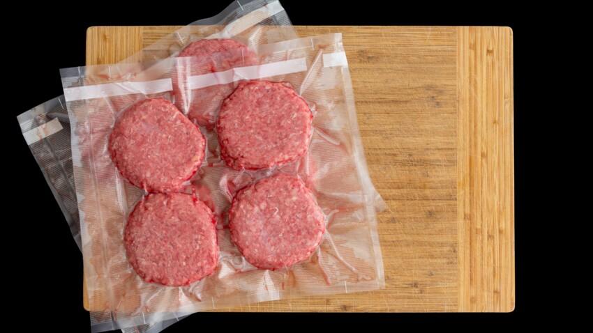 Pourquoi faut-il préférer les steaks hachés surgelés plutôt que frais ?
