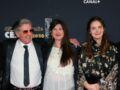 """""""César"""" 2020 : Daniel Auteuil tout sourire avec sa femme Aude et sa fille Nelly"""