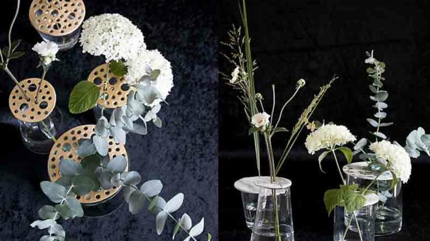 DIY : des pique-fleurs en modelage