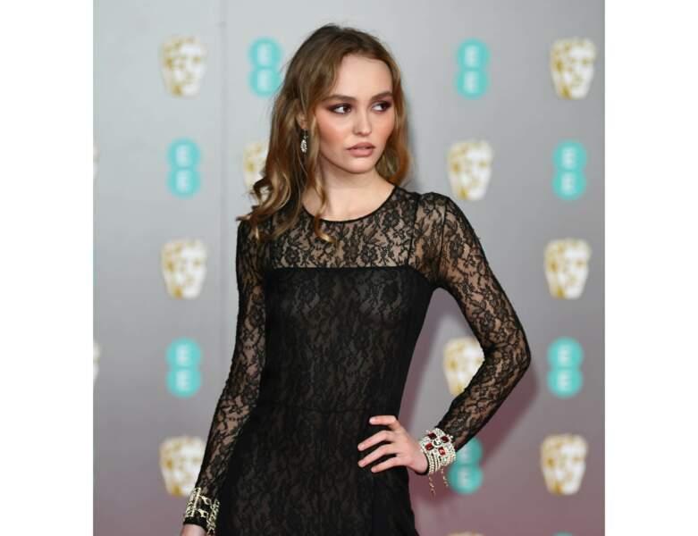 Cheveux châtains : le châtain clair de Lily-Rose Depp