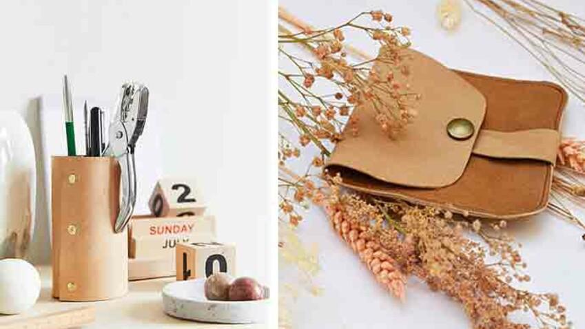 DIY : 5 idées de créations en cuir