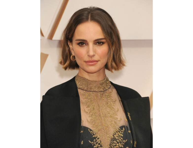 Cheveux châtains : le châtain nuancé et miel de Natalie Portman
