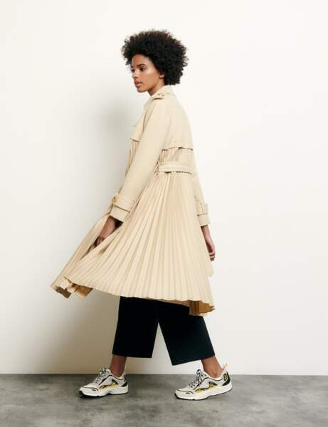 Tendance trench : baby doll