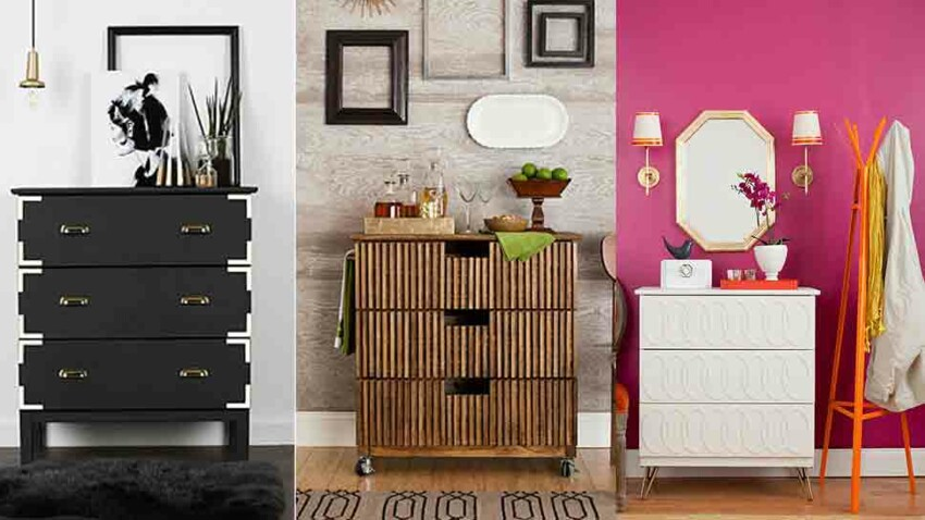 DIY : 3 versions de commode