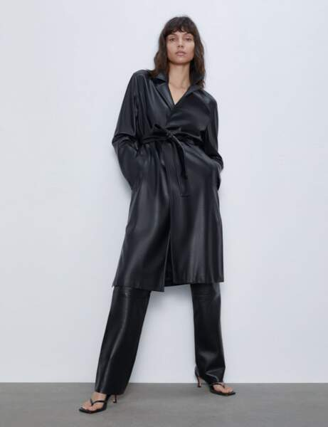 Tendance trench : glamour