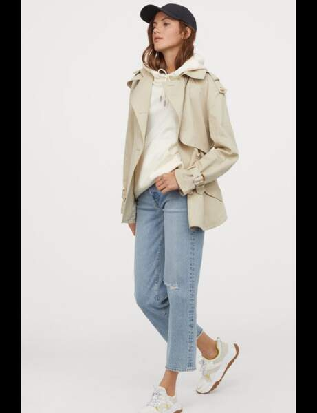 Tendance trench : casual