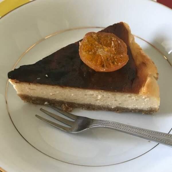 Cheesecake au yuzu