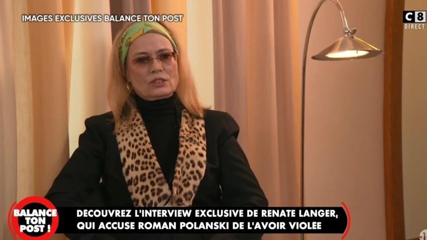 """""""Balance ton post"""" : Renate Langer, qui accuse Roman Polanski de viol, livre un témoignage glaçant"""