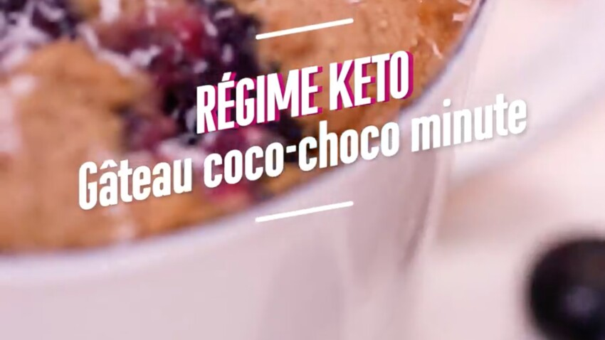 Recette du Gâteau Coco-Choco minute