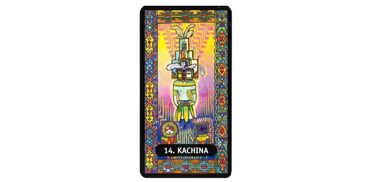 Tarot des chamans indiens : Kachina