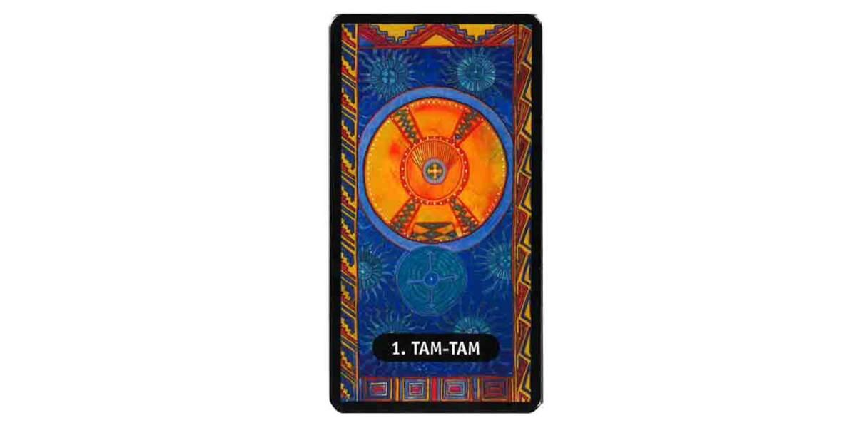 Tarot des chamans indiens : le Tam-tam