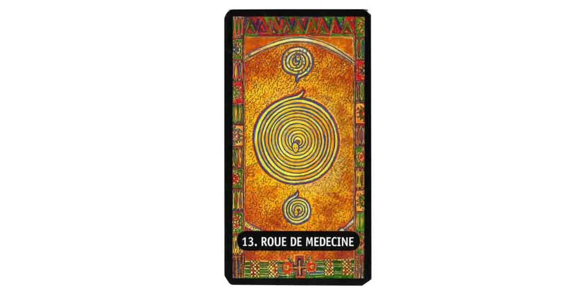 Tarot des chamans indiens : la roue de médecine